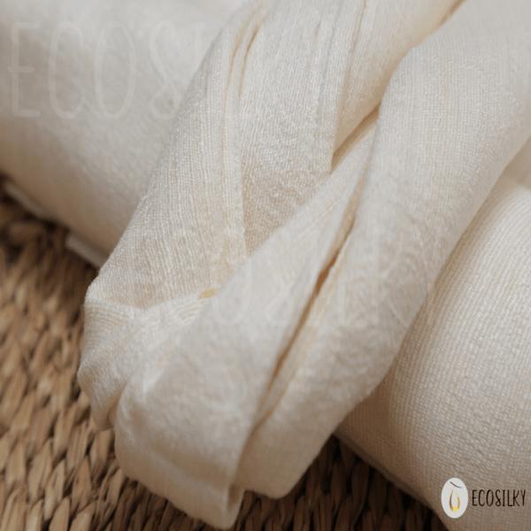 Khăn tập tơ tằm tự nhiên